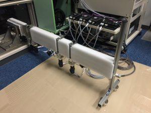 体幹部アシストのための多関節機構の試作機