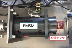 PMSMと位置センサ